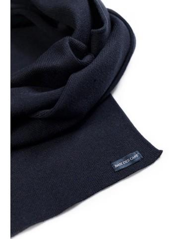 Echarpe Coton - bleu marine