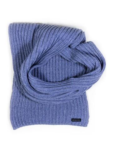 Echarpe Coton - bleu 150 x 24cm