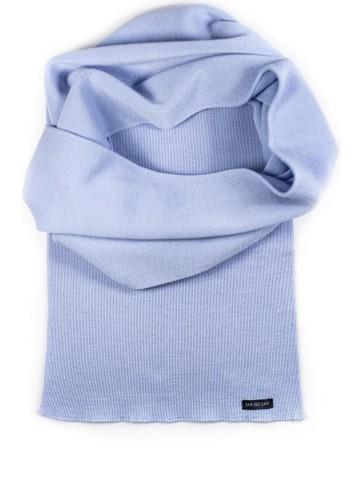 Echarpe - bleu ciel 180 x 26 cm