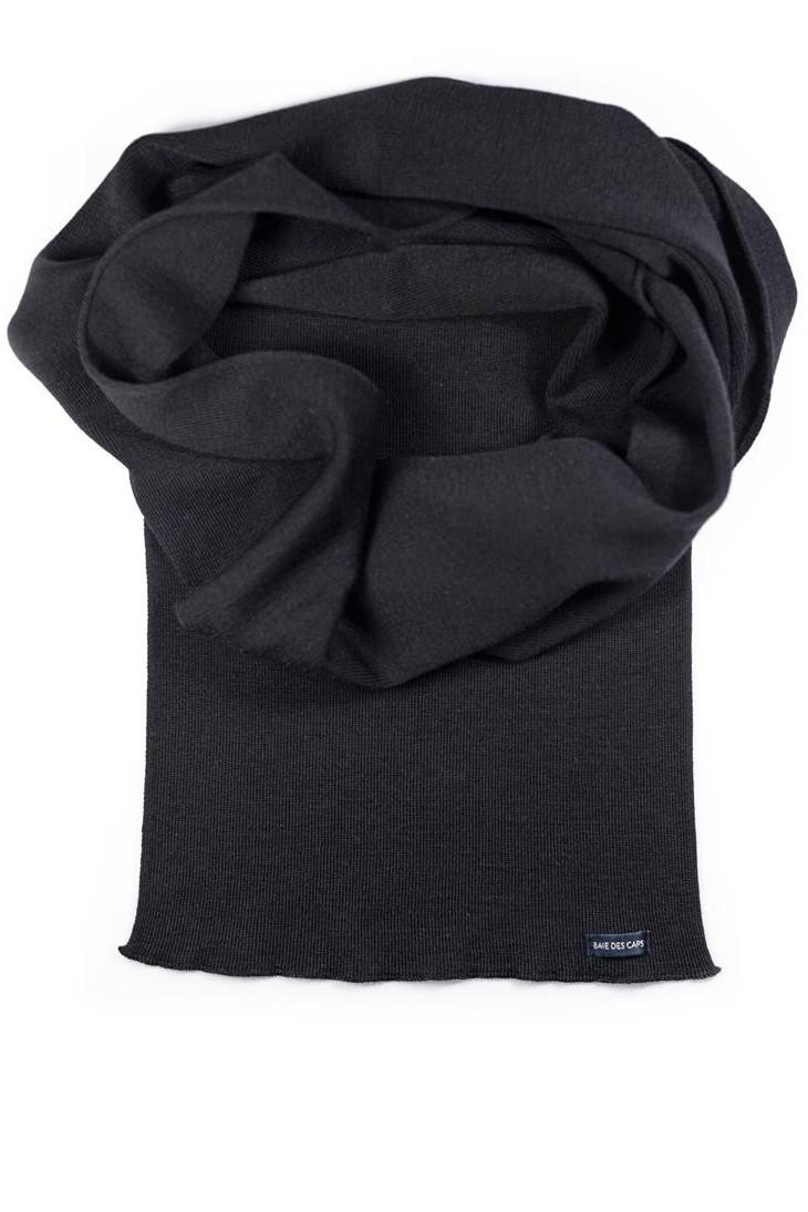 Echarpe - noire 180 x 26 cm