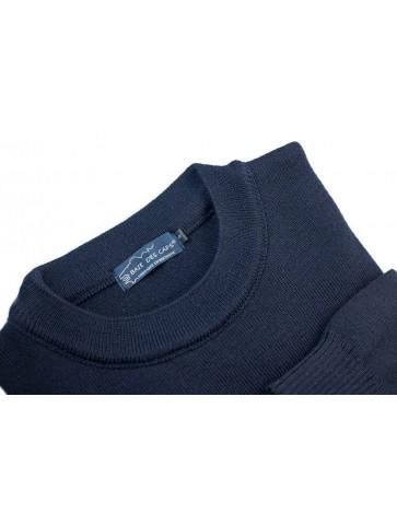 Pull col rond de second choix - Pure laine
