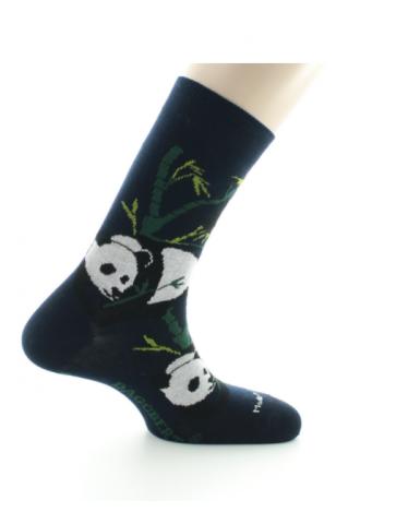 Chaussettes Panda marine