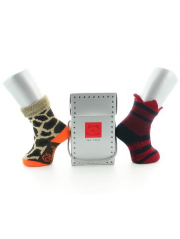 Boîte cadeau 2P chaussettes...