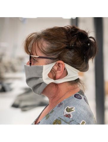 Masque réutilisable suédine...