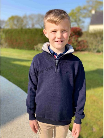 Sweat enfant camionneur MARINE SQUIRIOU